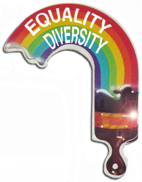 equality and diversity sticker
