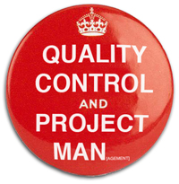 quality control badge